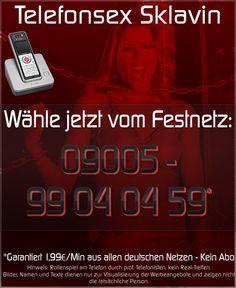 Telefonsex Sklavin