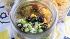 Mason Jar Taco Salad and others too