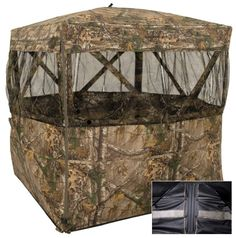 10 Top Turkey Hunting Gear Finds (SHOT Show 2014)  Browning Pop Up Ground Blinds