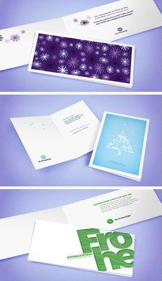 Geschäftliche Weihnachtskarten - Business Christmas Cards