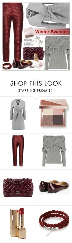 """Winter Sweater"" by ceci-alva on Polyvore featuring moda, Bobbi Brown Cosmetics, Etro, Exclusive for Intermix, Chanel, Jimmy Choo, Ciaté, Clarins y Kenneth Jay Lane"