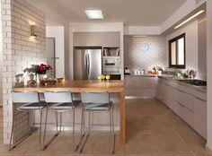 - דלפק אוכל במטבח, הגר אדריכלות ועיצוב
