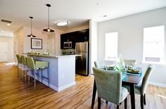 Premium kitchen and dining area.