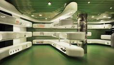 Clavel Arquitectos' Creation of Casanueva Pharmacy Located in Spain: Interior design of Casanueva Pharmacy