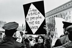 Judge Women as people not as wives #fem2 - post from WomanlyWoman.com