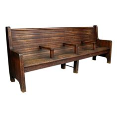Train station bench for entry