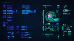 Prometheus featured hundreds of UI motion screens and HUD overlays created by…