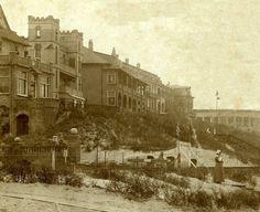 v.l.n.r. Hotel Oranje, Zeehorst, Huis ter Zee en Huis ter Duin.