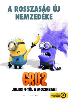 *MINION's ~ Despicable Me 2 Poster, 2013