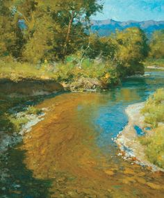 """Summer Stream,"" by Clyde Aspevig"