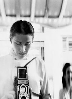 Eve Arnold Self Portrait