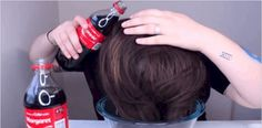 She Pours A Coca Cola In Her Hair And The Outcome Is Actually Unreal
