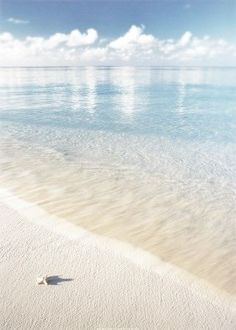 Crystal clear water and white sand. Paradise #sommer #strand #meer #kristallklar