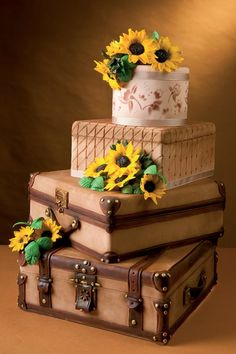 Travel Themed Cake...love this!