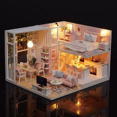 Dollhouse Miniature Creative Kit-University of Texas UT