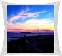 Büşra Çavuşoğlu - Sunset - Kendin Tasarla - Kare Yastık 40x40cm