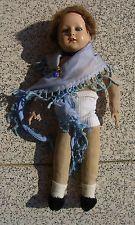 alte Schildkröt Puppe Nr. 11, ca. 38 cm