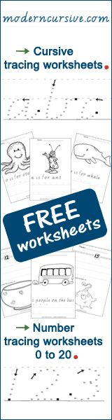 Free educational printable alphabet tracing worksheets for preschoolers, kindergarten and toddlers