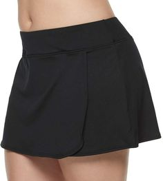 When keeping fit is the priority, you need swimwear designed for your needs. This women's TYR swim skort is an ideal combination of flattering coverage and durability that helps you move comfortably and enjoy every aquatic experience. Plus Size Dresses, Plus Size Outfits, Short Outfits, Short Dresses, Plus Size Shorts, Plus Size Beauty, Designer Swimwear, Plus Size Swimwear, Swim Dress