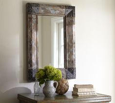 Trestle Mirror | Pottery Barn