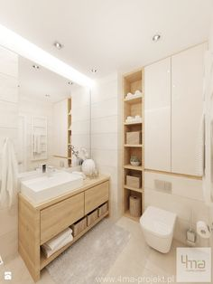 Bathroom Niche: Learn How To Choose And See Ideas With Photos - Home Fashion Trend Bathroom Niche, Bathroom Trends, Bathroom Toilets, Laundry In Bathroom, Bathroom Layout, Bathroom Colors, Bathroom Interior Design, Bathroom Sets, Modern Bathroom