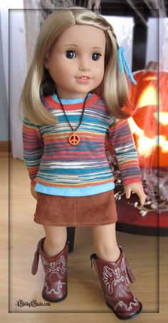 Fall At The Lake American Girl Doll clothes outfit by GillyGals