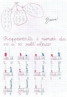 Rappresentiamo i numeri da 20 a 30, rappresentiamo i numeri da 20 a 30…