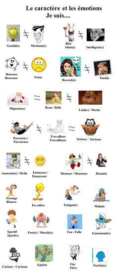 caractre et émotion