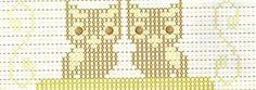 Gráficos ponto cruz da drica: Coruja em ponto oitinho