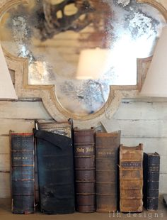 "Antique Bibles.   God's word is the same yesterday, today and forever.   It will never, ever change.  Don't let anyone tell you there has been ""new inspiration"".  Nor add or take away."