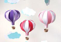 Hot Air Balloon Mobile DIY Kit