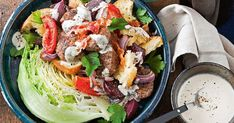 We've taken all the best elements of a burger and given it a modern salad makeover.