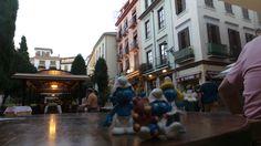 A Granada, plaza de la Pescaderia Settembre 2014