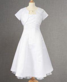 Bonnie Jean Kids Set, Girls Communion Dress and Bolero | macys.com