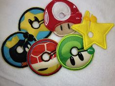 Super Mario G-Tube Pads from www.tubiewhoobies.com
