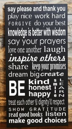 I love this quote, it's so very true and I try my best everyday to do these things !