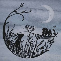 moon hare images - Google Search