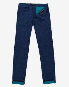 Colored Jean - Turquoise | Jeans & Pants | Ted Baker