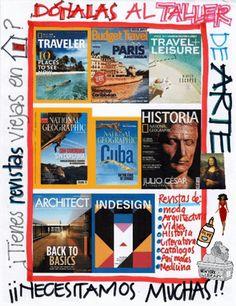 #ArtWorkshop #ArteEnLaActiva Baseball Cards, Books, School, History, Libros, Book, Book Illustrations, Libri