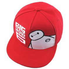 Big Hero 6 - Baymax Kids Snapback Baseball Cap