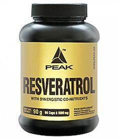 Peak Resveratrol, 90 Kaps.