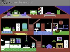 Little Computer People (Commodore 64)
