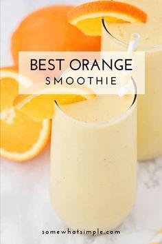 Drink Recipes Nonalcoholic, Easy Drink Recipes, Fruit Smoothie Recipes, Shake Recipes, Healthy Smoothies, Yummy Drinks, Diet Drinks, Healthy Drinks, Healthy Snacks