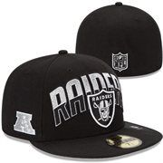 New Era Oakland Raiders 2013 NFL Draft 59FIFTY Fitted Hat - Black Gorras  Snapback ee5975a3449