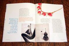 Alexey Brodovitch by Tiffany Bontrager, via Behance Alexey Brodovitch, Page Layout Design, Magazines, Tiffany, Behance, Books, Journals, Libros, Book