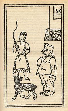 The Good Soldier Svejk, Jan Svankmajer, World War One, First Novel, Book Illustration, Czech Republic, Illustrators, Fairy Tales, Literature