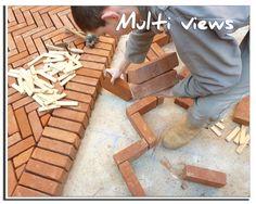 Terrasse en brique Fabrication