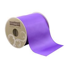 Eggplant Satin Ribbon by Celebrate It Occasions, 4""