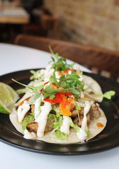Taco feast at Taqueria, Notting Hill   Cake + Whisky