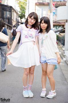 Harajuku Girls in Milklim Pastels, Shimamura, Spinns & WEGO